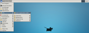 ThinLinc xfce screenshot